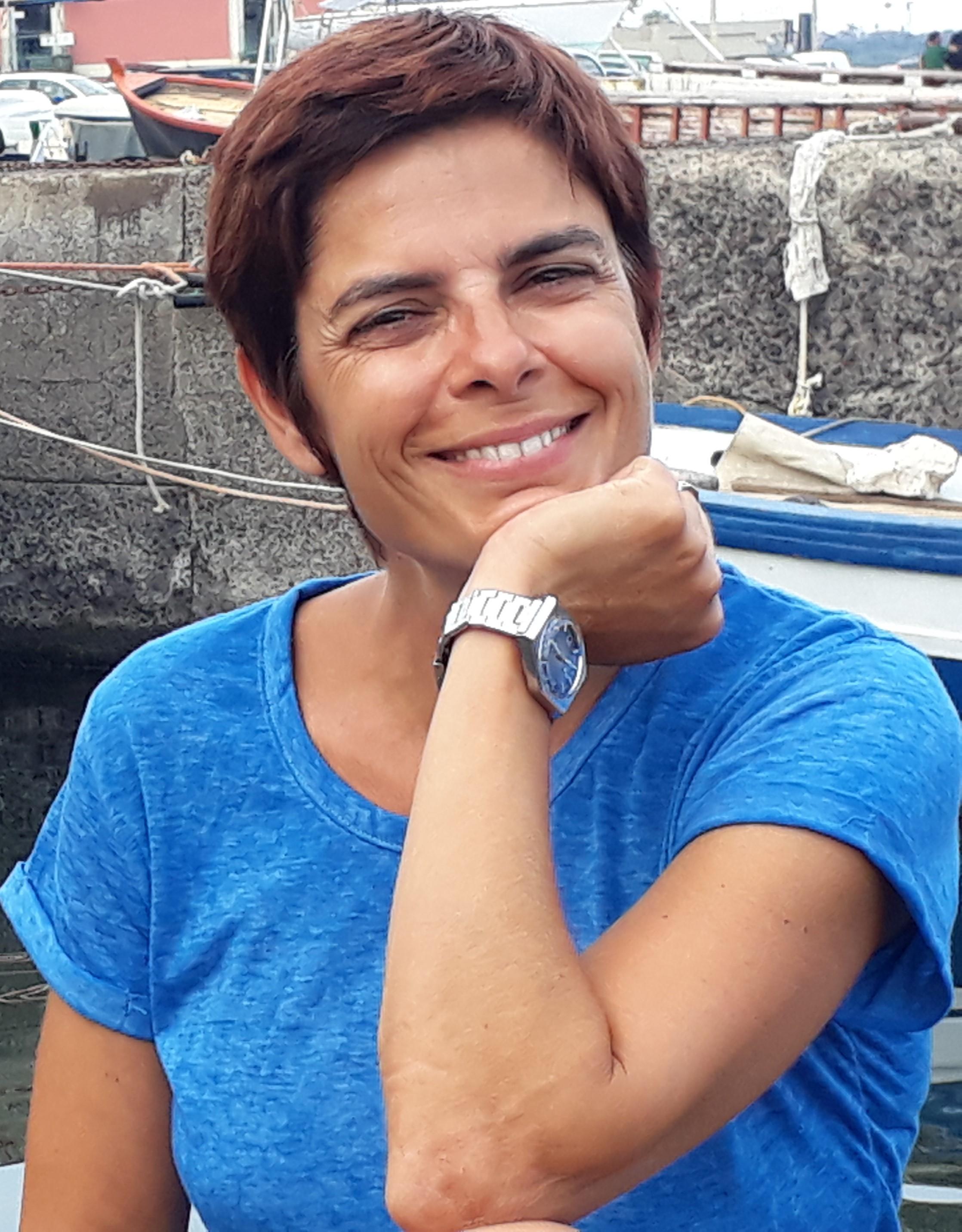 Anna Barbati. Portrait.